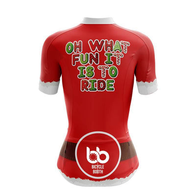 Bicycle Booth Short Sleeve Jersey Oh what fun it is to ride Jersey