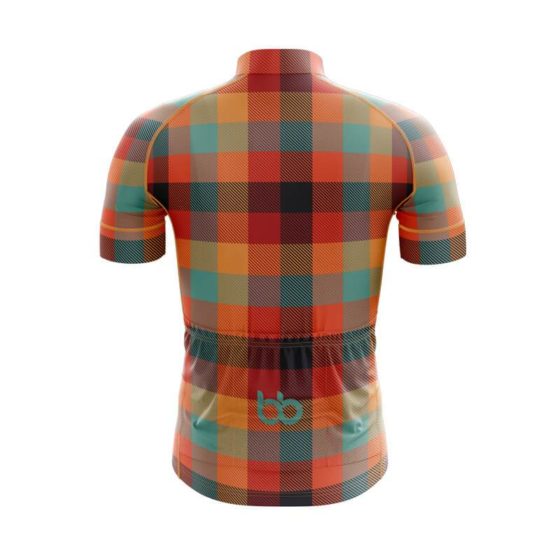 Bicycle Booth Short Sleeve Jersey XXS / Male Plaid Jersey (V11)