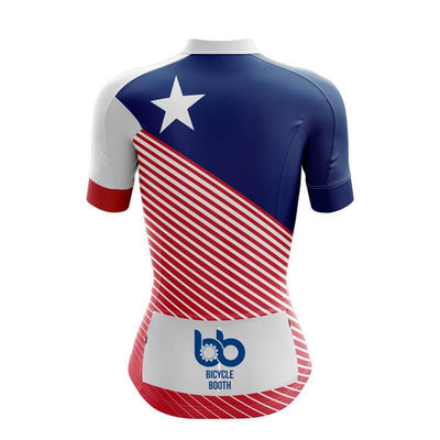 Bicycle Booth Short Sleeve Jersey Puerto Rico Jersey (V3)