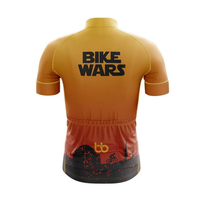 Bicycle Booth Short Sleeve Jersey Tatooine Bike Wars Jersey