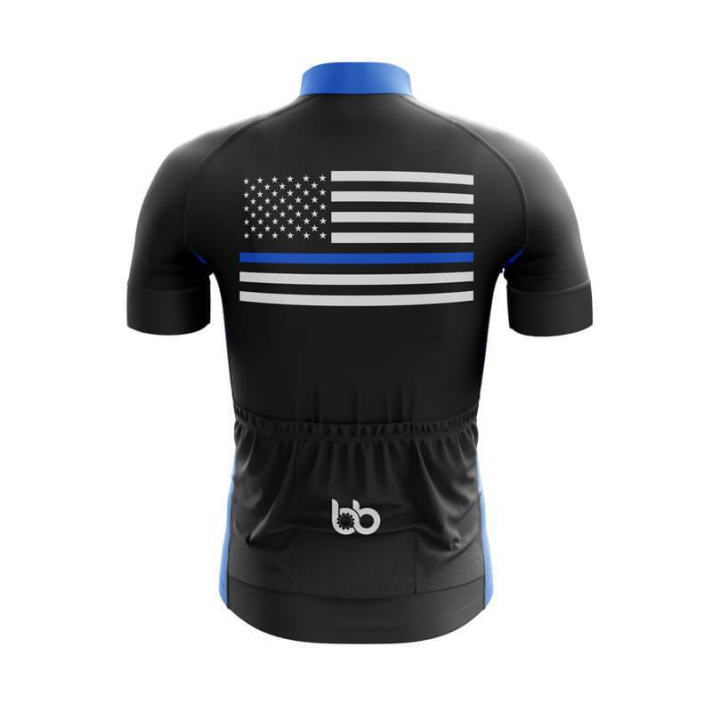 Bicycle Booth Short Sleeve Jersey XXS / Male The Thin Blue Line Jersey