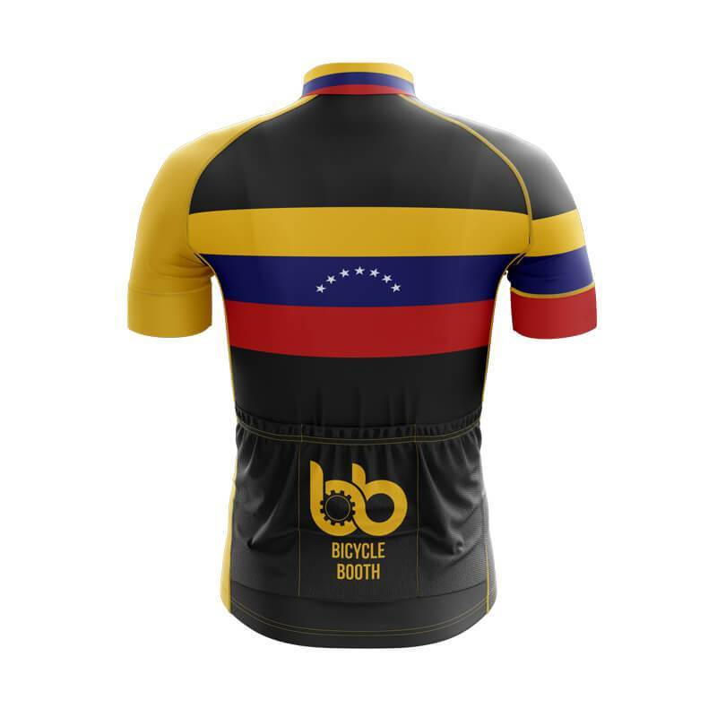 Bicycle Booth Short Sleeve Jersey XXS / Male Venezuela Jersey (V3)