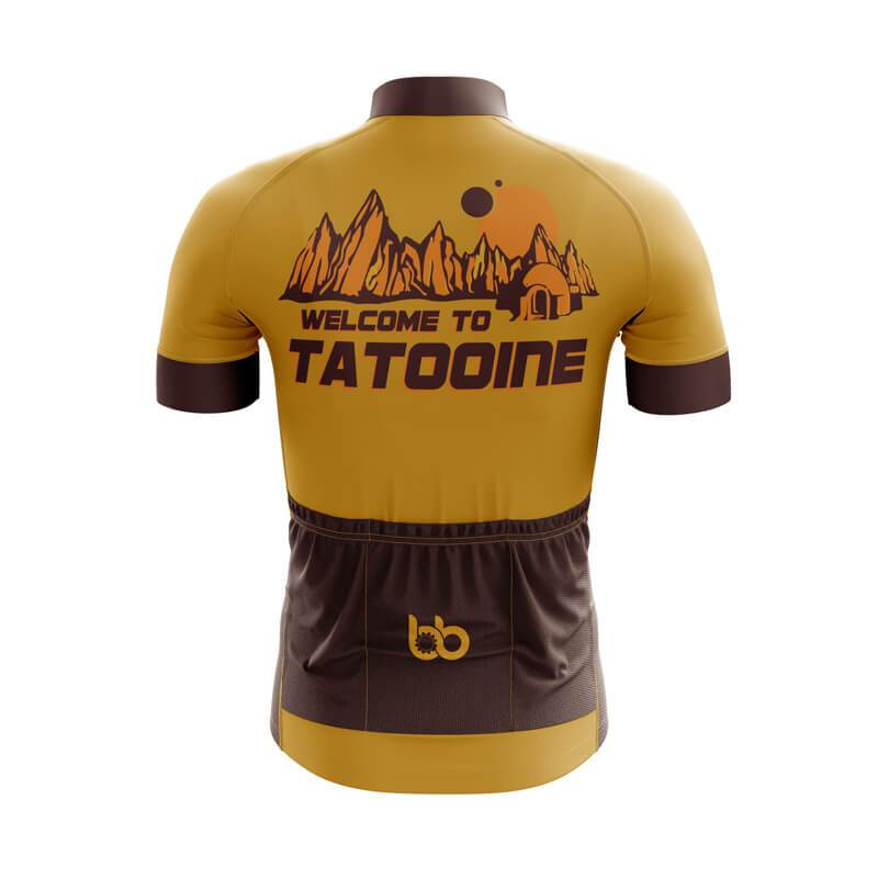 Bicycle Booth Short Sleeve Jersey XXS / Male Welcome to Tatooine Jersey
