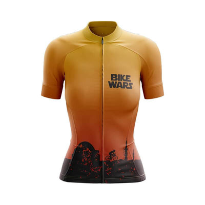 Bicycle Booth Short Sleeve Jersey XXS / Female Tatooine Bike Wars Jersey