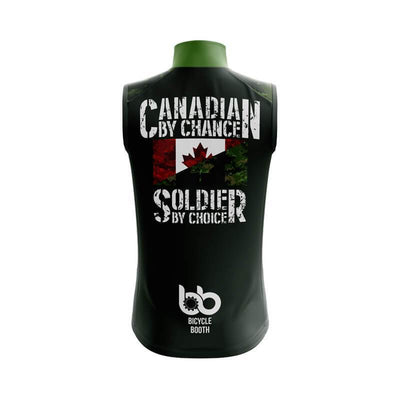 Bicycle Booth Sleeveless Jerseys Canadian Soldier Sleeveless Jersey