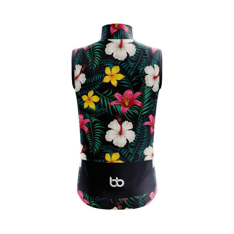 Bicycle Booth Sleeveless Jerseys XXS / Female Floral Design 2 (V1) Sleeveless Jersey
