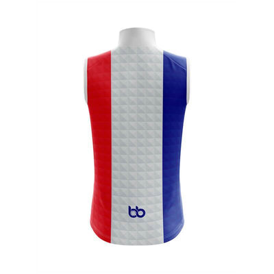 Bicycle Booth Sleeveless Jerseys France Sleeveless Jersey (V1)