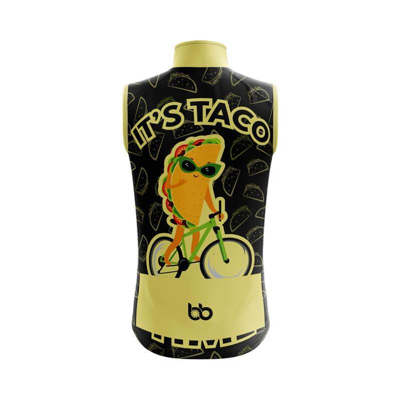 Bicycle Booth Sleeveless Jerseys XXS / Female It's Taco Time Sleeveless Jersey (V1)