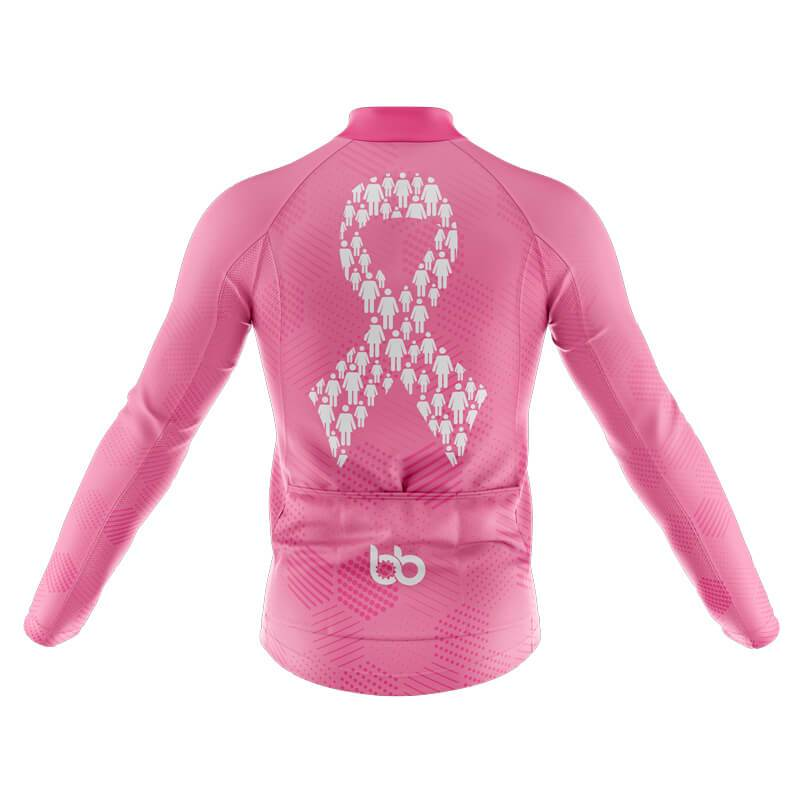 Bicycle Booth Thermal Jerseys XXS / Male Breast Cancer Thermal Jersey (1)