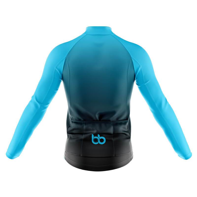 Bicycle Booth Thermal Jerseys XXS / Male Color Combination (Plain Cyan) Thermal Jersey