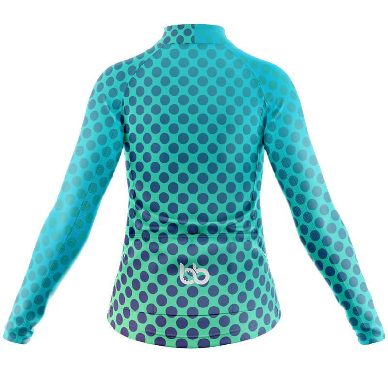 Bicycle Booth Thermal Jerseys XXS / Male Gradient Dotted Thermal Jersey V2