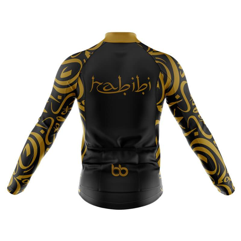 Bicycle Booth Thermal Jerseys XXS / Male Habibi Thermal Jersey (V1) (Black)