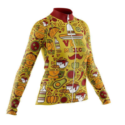 Bicycle Booth Thermal Jerseys Mexico Flag (V3) Thermal Jersey