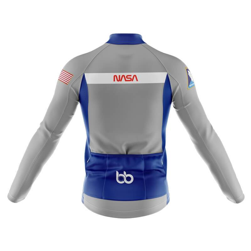 Bicycle Booth Thermal Jerseys XXS / Male NASA Commander Thermal Jersey (Grey)