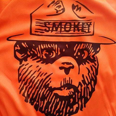 Bicycle Booth Thermal Jerseys Smokey Bear Thermal Jersey