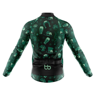 Bicycle Booth Thermal Jerseys St. Patrick Pt. 2 Thermal Jersey (V5)