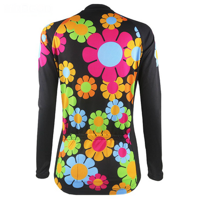 Bicycle Booth Thermal Jerseys Sunflower Thermal Jersey