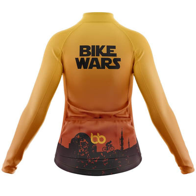 Bicycle Booth Thermal Jerseys Tatooine Bike Wars Thermal Jersey