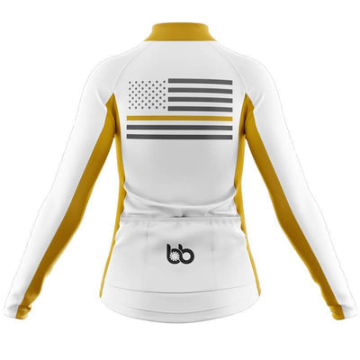 Bicycle Booth Thermal Jerseys The Thin Gold Line Thermal Jersey