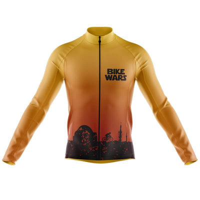 Bicycle Booth Thermal Jerseys XXS / Male Tatooine Bike Wars Thermal Jersey