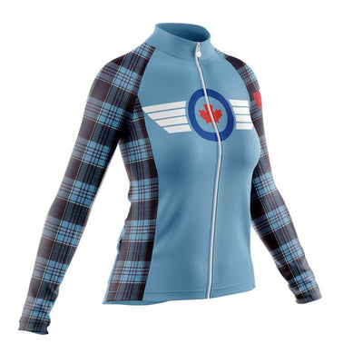 BicycleBooth Long Sleeve Jerseys Royal Canadian Air Force (V2) Long Sleeve Jersey