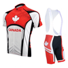 HIRBGOD Official Store Jersey and Bib Shorts / XS / Male Team Canada Short Sleeve Set