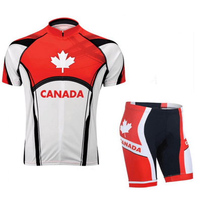 HIRBGOD Official Store Jersey and Shorts / XS / Male Team Canada Short Sleeve Set