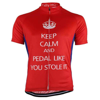 HIRBGOD Official Store Short Sleeve Jersey Pedal Like You Stole It Jersey