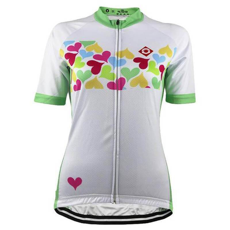 HIRBGOD Official Store Short Sleeve Jersey Pure Love Cycling Jersey