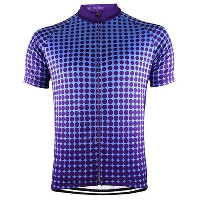 NorthMountain Store Short Sleeve Jersey Purple Galaxy Jersey