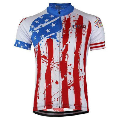 NorthMountain Store Short Sleeve Jersey Statue of Liberty Jersey