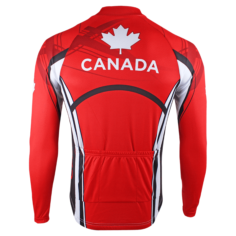 NorthMountain Store Thermal Jerseys Thermal Canada Olympic Jersey