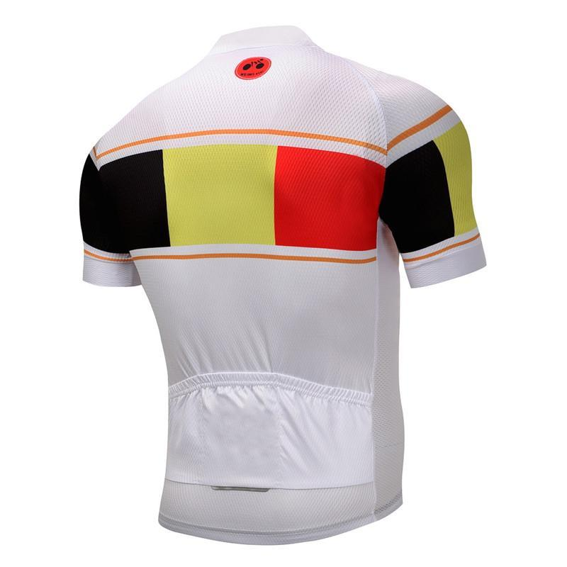 Outdoor Cycling World Store Short Sleeve Jersey S / Male Belgium Cycling Jersey