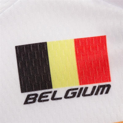 Outdoor Cycling World Store Short Sleeve Jersey Belgium Cycling Jersey