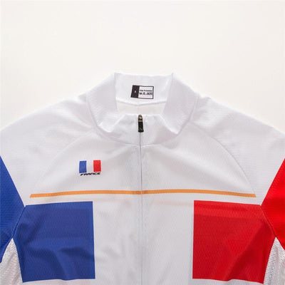 Outdoor Cycling World Store Short Sleeve Jersey France Cycling Jersey