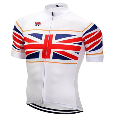 Outdoor Cycling World Store Short Sleeve Jersey S / Male UK Cycling Jersey