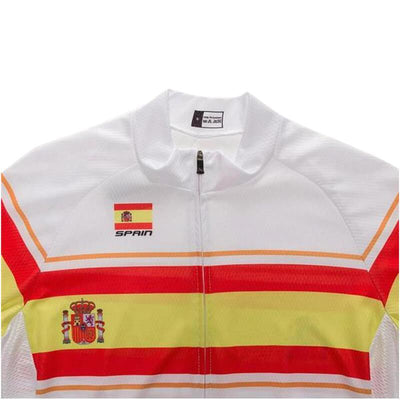 Outdoor Cycling World Store Short Sleeve Jersey Spain Cycling Jersey (V4)