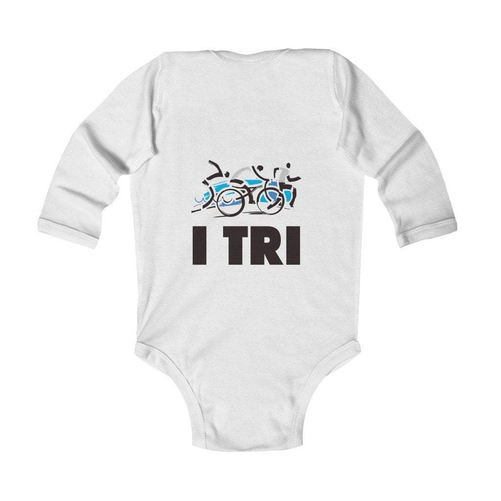 Printify Kids clothes White / NB I Tri Infant Long Sleeve Bodysuit