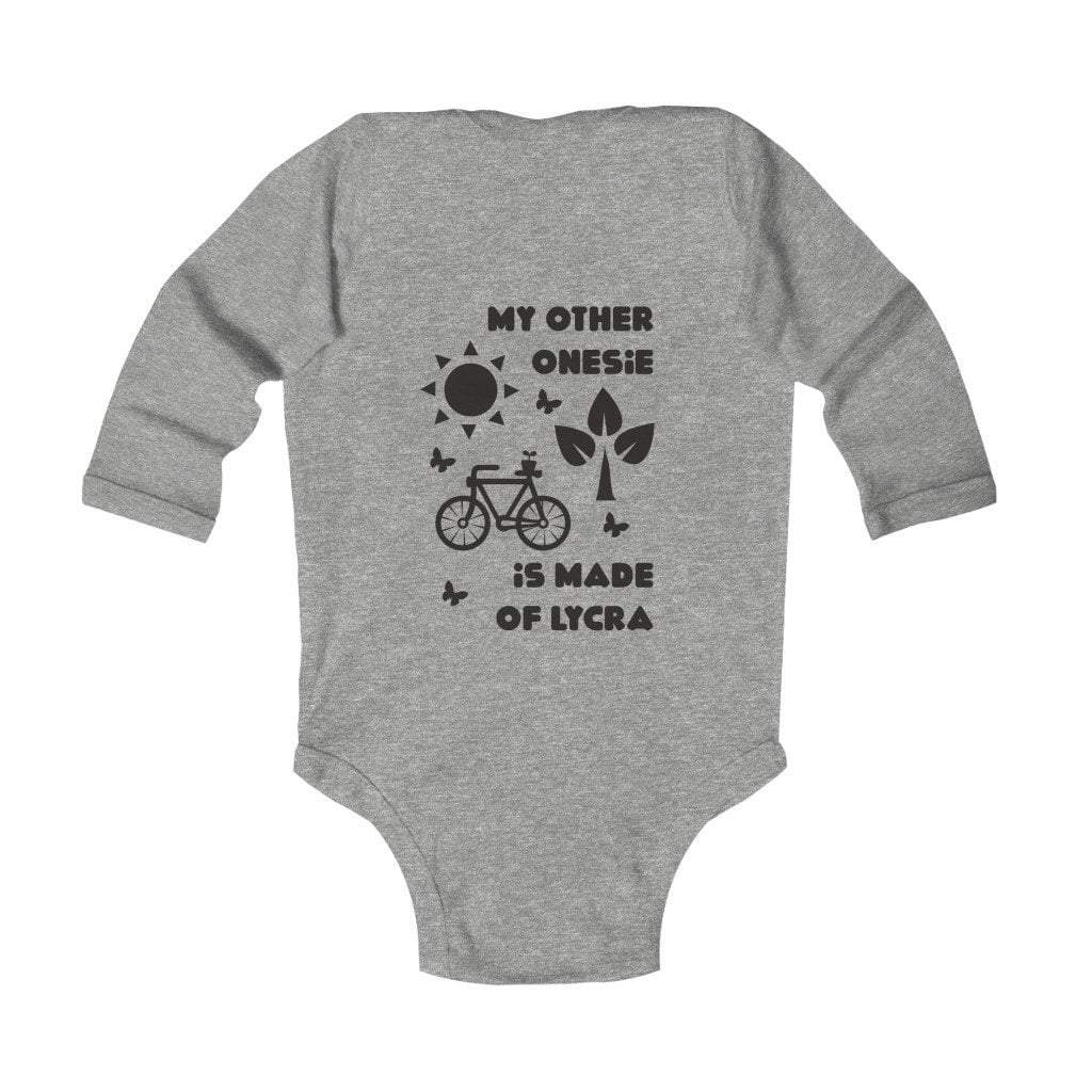 Printify Kids clothes Heather / NB My other onesie is made of lycra Infant Long Sleeve Bodysuit