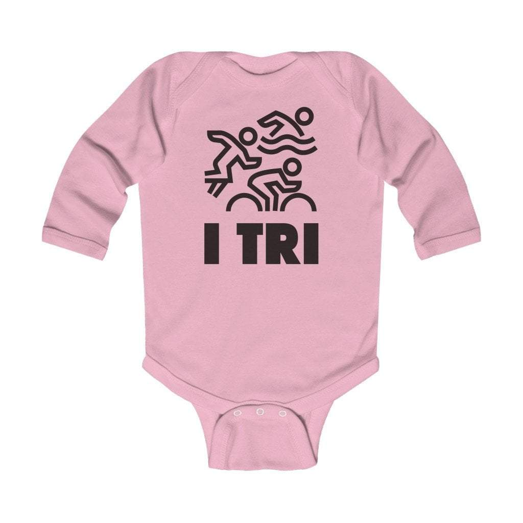 Printify Kids clothes Pink / 18M I Tri Infant Long Sleeve Bodysuit 2