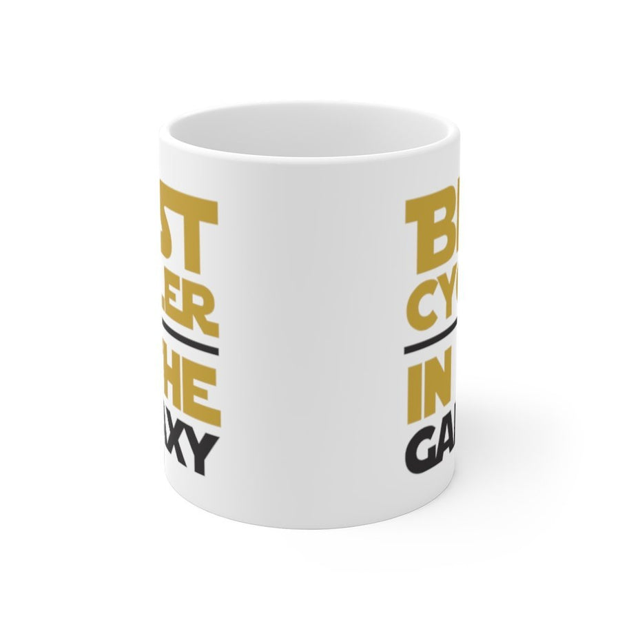 Printify Mug 11oz Best cycler in the galaxy
