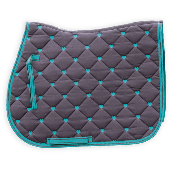 Loveson Hearts Saddle Pad