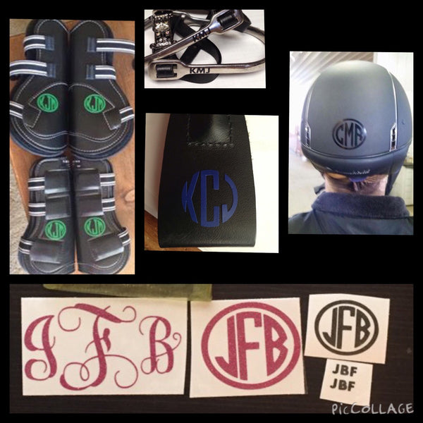 Equestrian Monogram  Package - KJ Creations