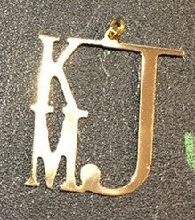 Steel Monogram - KJ Creations