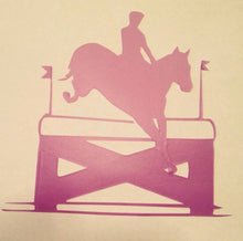 Eventer Landing with jump Decal - KJ Creations