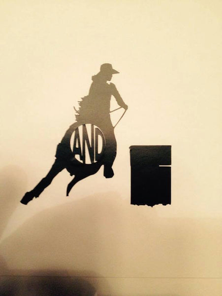 Barrel Horse Decal - KJ Creations