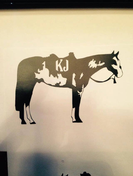 Paint Horse Decal - KJ Creations