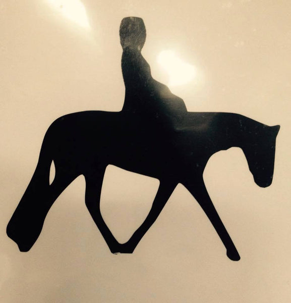 Side Saddle Decal (side view) - KJ Creations