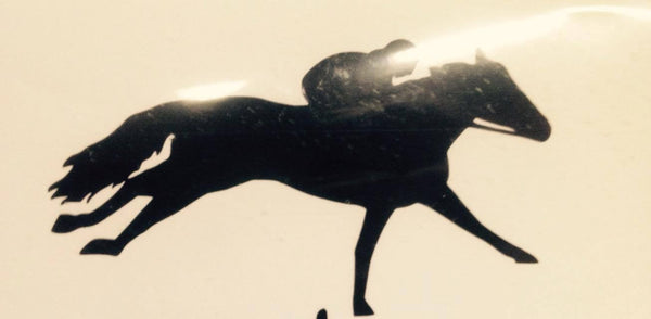 Racehorse  Decal (side view) - KJ Creations