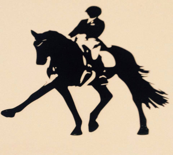 Dressage Extension  Decal - KJ Creations